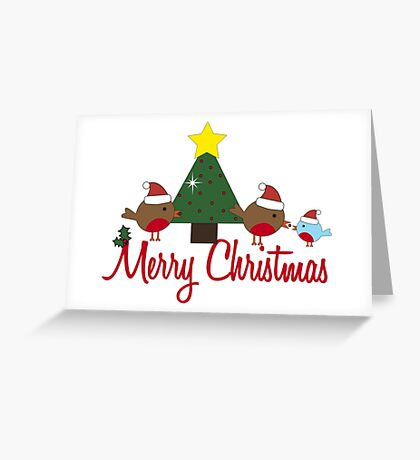 Robin Redbreast 14 Greeting Card