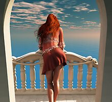 A room with a view by Britta Glodde
