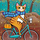 Autumn Bicycle Ride by Ryan Conners