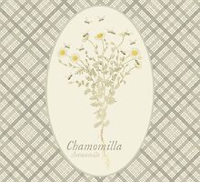 Chamomile Bees (natural) by historicnature