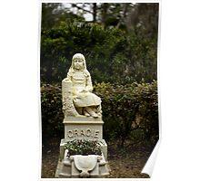 """Gracie"" Bonaventure Cemetery Poster"