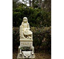 """""""Gracie"""" Bonaventure Cemetery Photographic Print"""