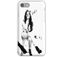 camila - b&w series iPhone Case/Skin