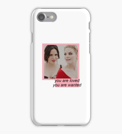 Once Upon A Time, Jennifer Morrison and Lana Parrilha iPhone Case/Skin