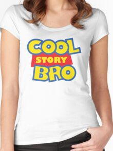 Cool Story Bro! Women's Fitted Scoop T-Shirt