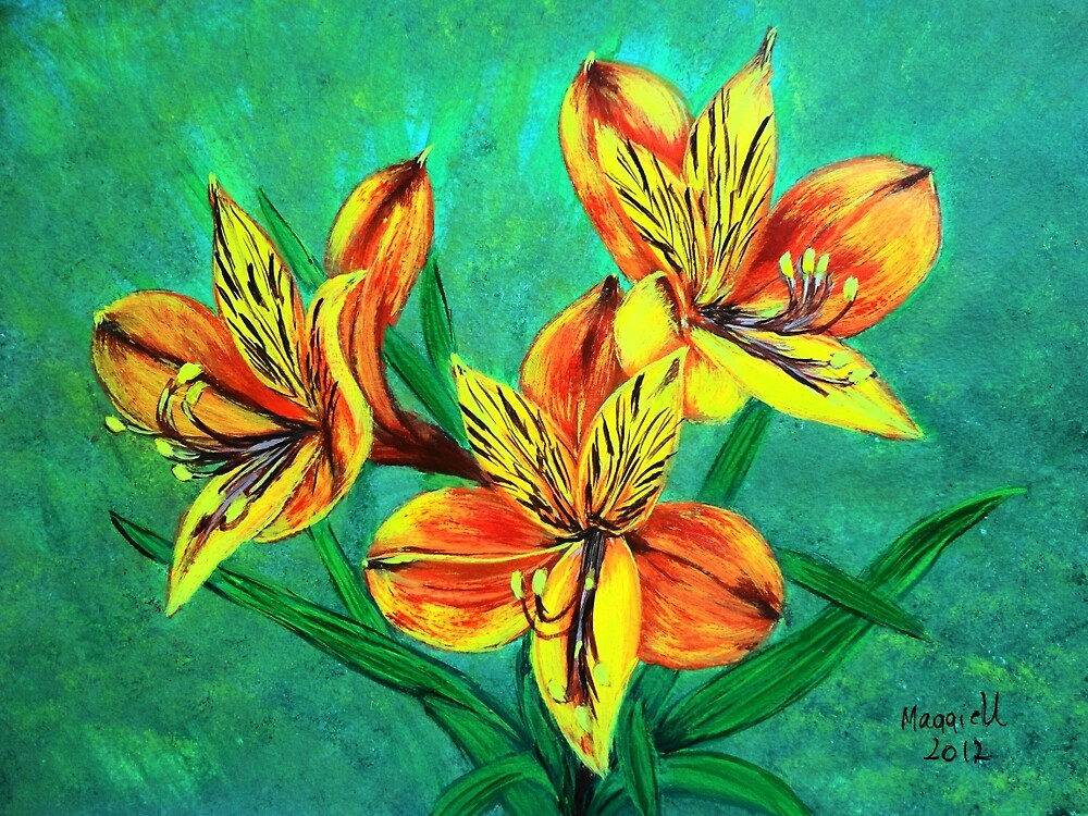 Tiger Lillies  by maggie326