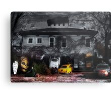 Fear and Loathing at the End of a Country Road Metal Print