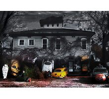 Fear and Loathing at the End of a Country Road Photographic Print