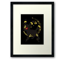 Graffiti Umbreon Framed Print