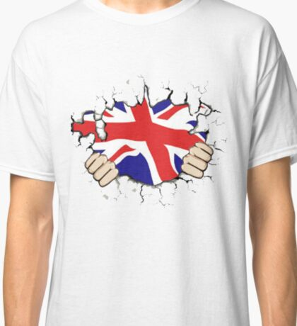 Great Britain. United Kingdom. Union Jack Classic T-Shirt