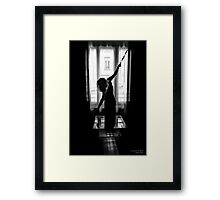 In a frame #3, 2014 Framed Print