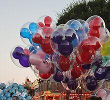 Disney Balloons by cjcooper