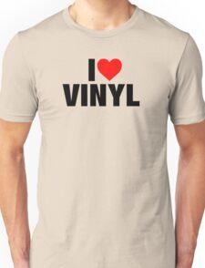 I Heart Vinyl Unisex T-Shirt