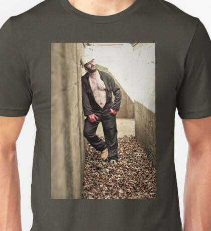 TROY - BUILDER IN THE FALL Unisex T-Shirt