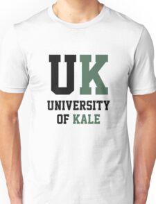Kale University Funny Vegan Unisex T-Shirt