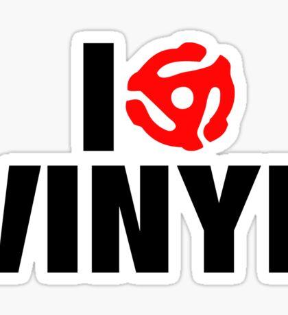 I Spin Vinyl Sticker