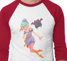 Celia & Boris (no background) Men's Baseball ¾ T-Shirt