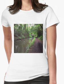 Riverside walks Womens Fitted T-Shirt