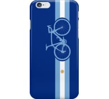 Bike Stripes Argentina iPhone Case/Skin