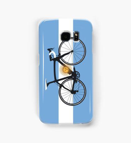 Bike Flag Argentina (Big - Highlight) Samsung Galaxy Case/Skin