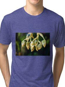 Flower Fingers - Nature Photography Tri-blend T-Shirt