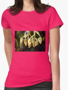 Flower Fingers - Nature Photography Womens Fitted T-Shirt