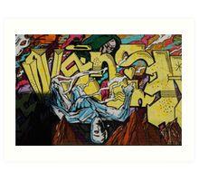 Graffiti Boys Art Print