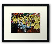 Graffiti Boys Framed Print