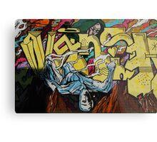 Graffiti Boys Metal Print