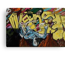 Graffiti Boys Canvas Print