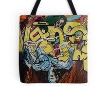 Graffiti Boys Tote Bag