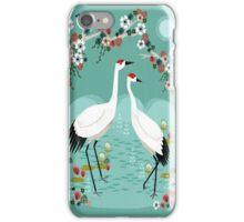 Cranes by Andrea Lauren iPhone Case/Skin