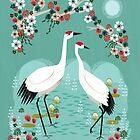 Cranes by Andrea Lauren by Andrea Lauren