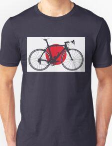 Bike Flag Japan (Big - Highlight) T-Shirt