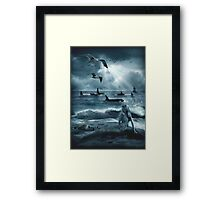 Sirens of the Sea Framed Print