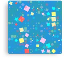 Squares mosaic Canvas Print