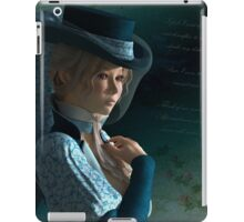 Victorian lady and a love letter iPad Case/Skin
