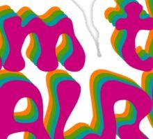 the beatles john lennon rock lyrics hippie t shirts Sticker