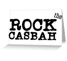 the clash lyrics punk rock t shirts Greeting Card