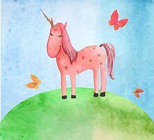 Unicorn by ldinka