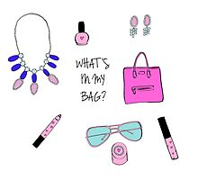 What's in my bag by melissacorsari