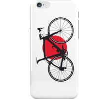 Bike Flag Japan (Big - Highlight) iPhone Case/Skin