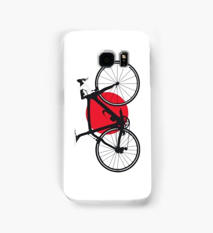 Bike Flag Japan (Big - Highlight) Samsung Galaxy Case/Skin