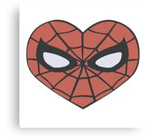 Spidey Heart Canvas Print