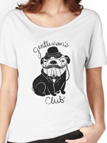 Gentlemen's Pug Women's Relaxed Fit T-Shirt