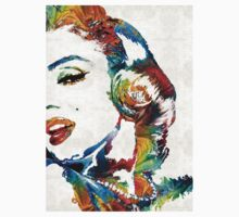 Marilyn Monroe Painting - Bombshell - By Sharon Cummings Kids Clothes