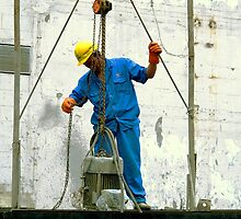 Construction Workers  © by Ethna Gillespie
