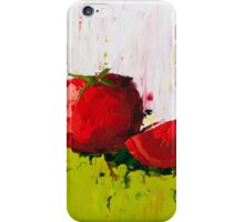 Plump Red Tomato iPhone Case/Skin