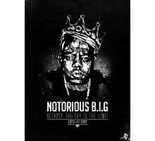 Notorious BEEF BN Photographic Print