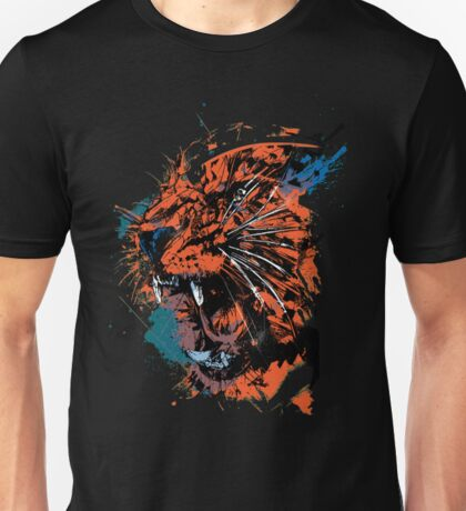 Faded Tiger.  Unisex T-Shirt